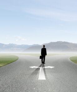 Man Crossroads